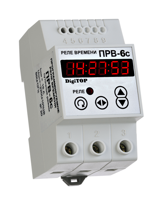 Timing relay DigiTOP РВ-6С