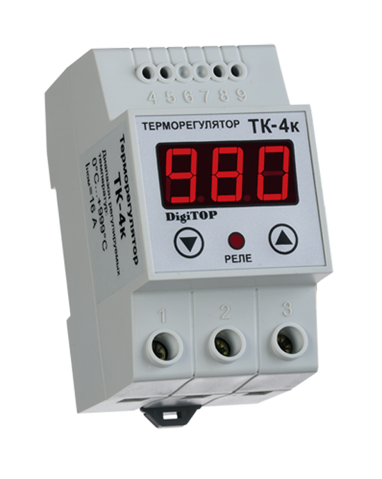 Thermostatic controller DigiTOP ТК-4К (without sensor)