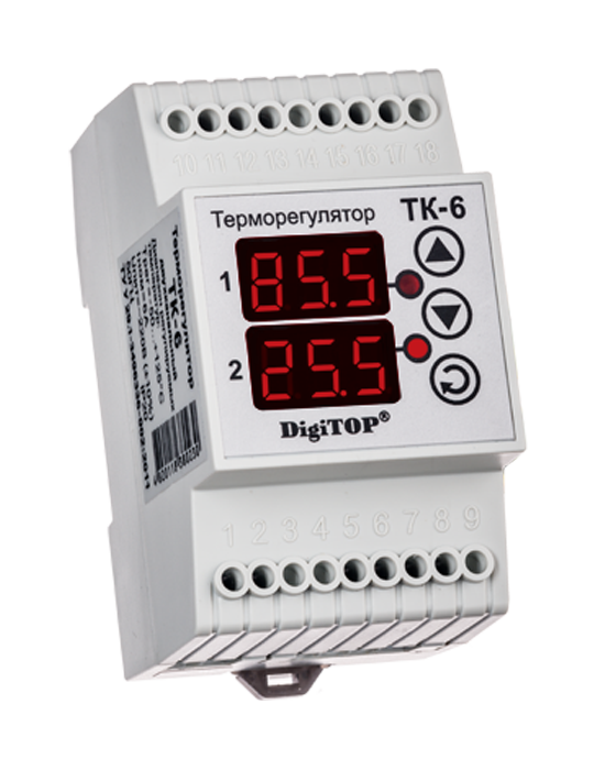Thermostatic controller DigiTOP ТК-6