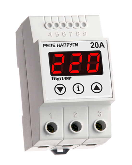 Voltage sensing relay DigiTOP VP-20А
