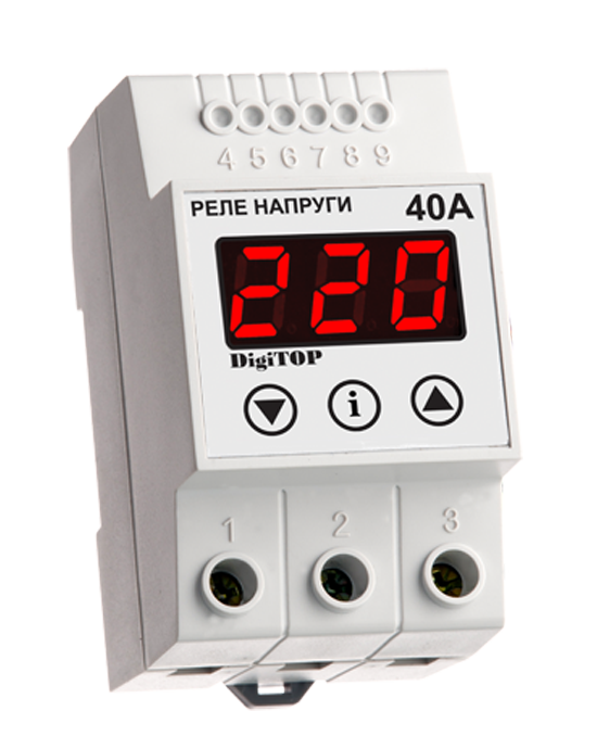 Voltage sensing relay DigiTOP VP-40А