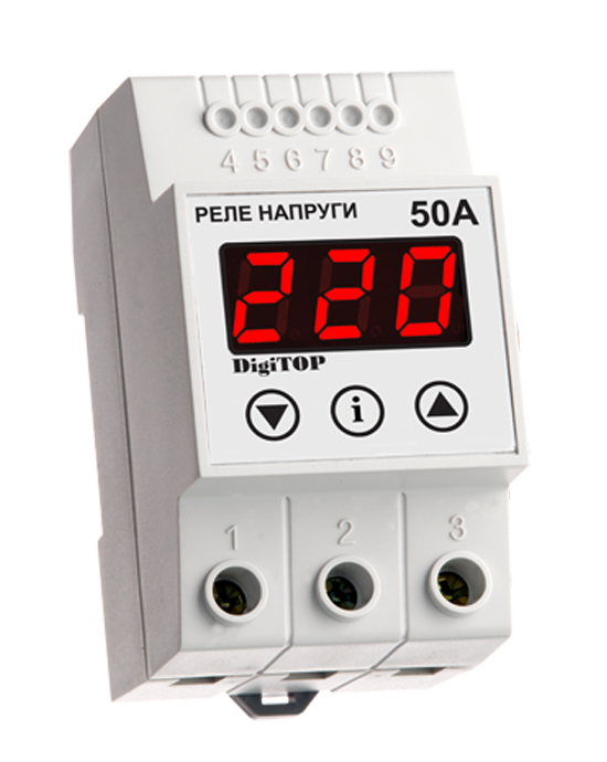 Voltage sensing relay DigiTOP VP-50А