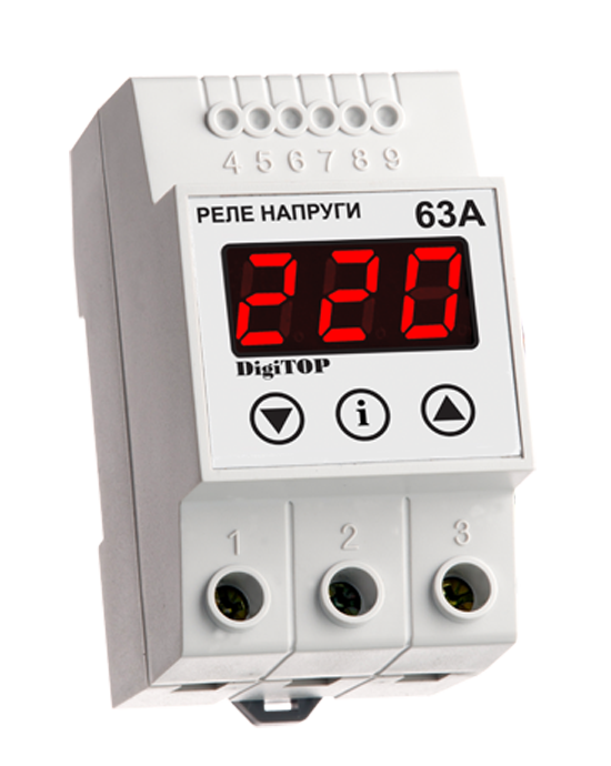 Voltage sensing relay DigiTOP VP-63А